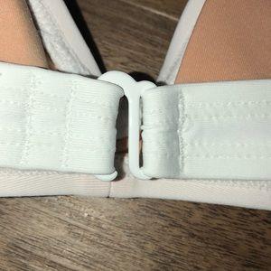 J. Crew Swim - J. Crew White Bikini Top Adjustable Straps M NWT